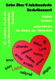 Herbstkonzert @ Klosterwaldhalle