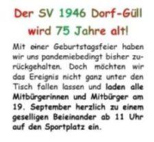 75 Jahre SV